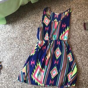 Gianni Bini multi colored dress